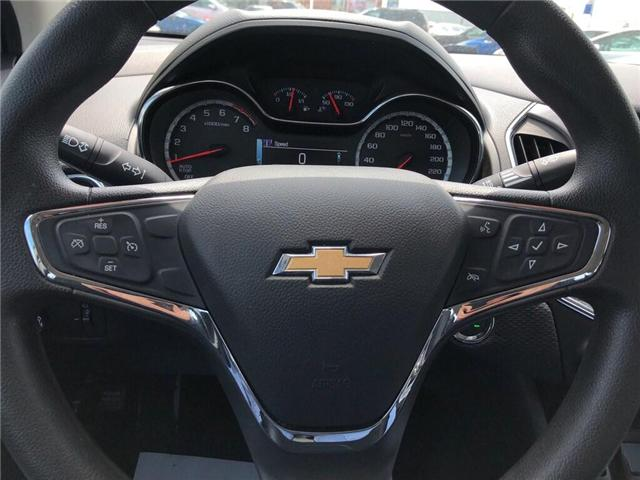 2018 Chevrolet Cruze LT|TRUE NORTH|SUNROOF|REAR CAMERA|LOW KMS'| (Stk: PW18227) in BRAMPTON - Image 11 of 16