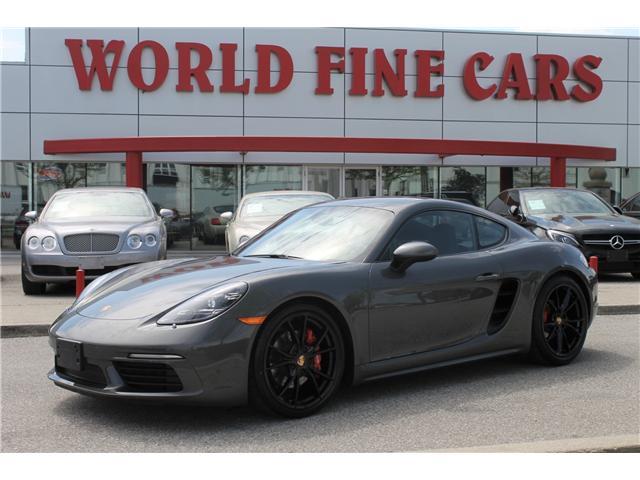 2017 Porsche 718 Cayman S (Stk: 16701) in Toronto - Image 1 of 28