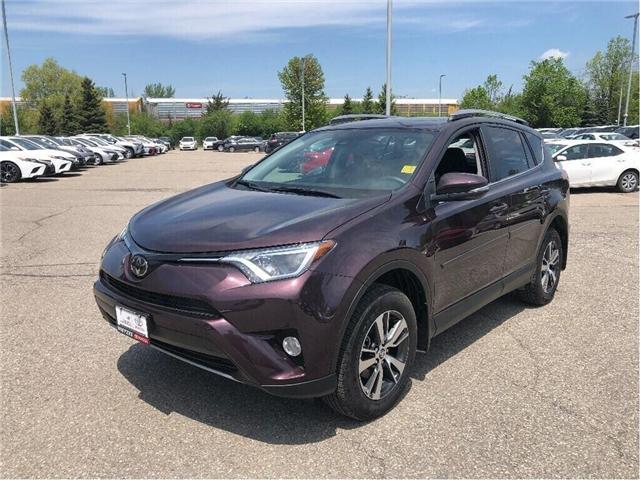 2018 Toyota RAV4 XLE,AWD,SUNROOF, (Stk: u2601) in Vaughan - Image 1 of 16