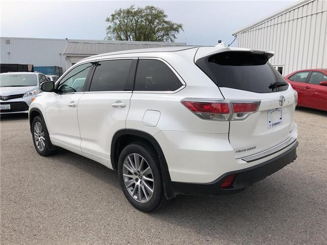 2016 Toyota Highlander XLE (Stk: U10519) in Goderich - Image 2 of 18