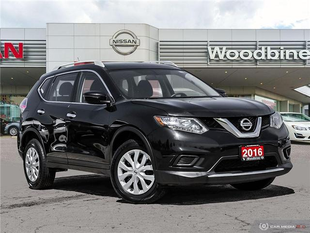 2016 Nissan Rogue S (Stk: P7315A) in Etobicoke - Image 1 of 26