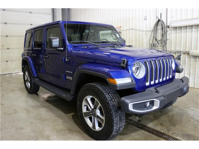 2019 Jeep Wrangler Unlimited Sahara (Stk: KT042) in Rocky Mountain House - Image 3 of 29