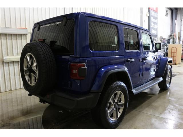 2019 Jeep Wrangler Unlimited Sahara (Stk: KT042) in Rocky Mountain House - Image 7 of 29