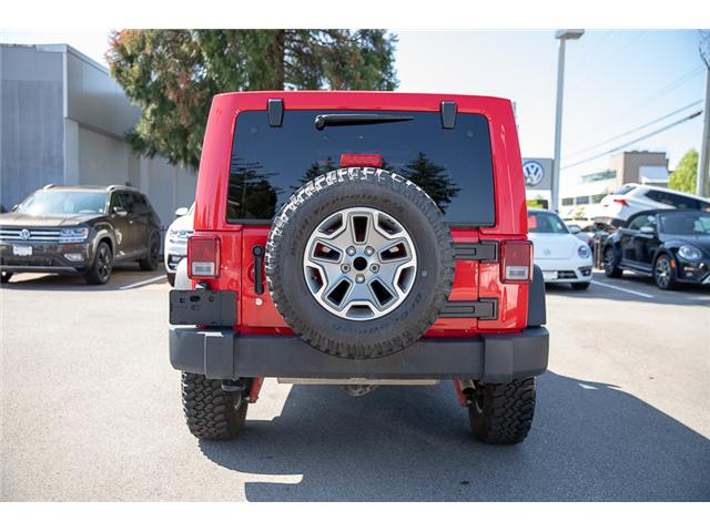 2018 Jeep Wrangler JK Unlimited Rubicon (Stk: VW0876) in Vancouver - Image 6 of 30