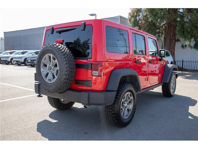 2018 Jeep Wrangler JK Unlimited Rubicon (Stk: VW0876) in Vancouver - Image 7 of 30