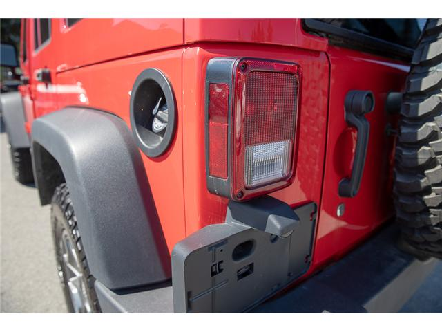2018 Jeep Wrangler JK Unlimited Rubicon (Stk: VW0876) in Vancouver - Image 12 of 30