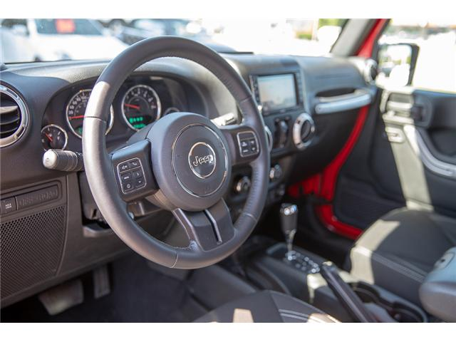 2018 Jeep Wrangler JK Unlimited Rubicon (Stk: VW0876) in Vancouver - Image 16 of 30