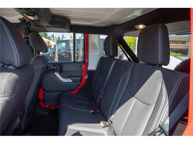 2018 Jeep Wrangler JK Unlimited Rubicon (Stk: VW0876) in Vancouver - Image 18 of 30