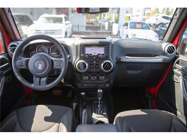 2018 Jeep Wrangler JK Unlimited Rubicon (Stk: VW0876) in Vancouver - Image 19 of 30