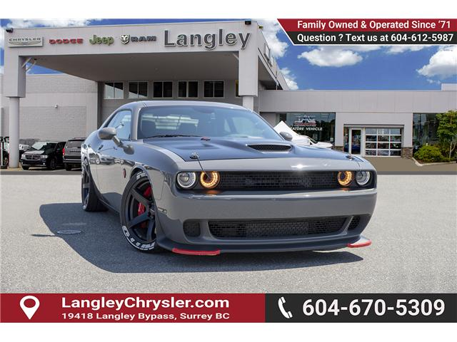 2018 Dodge Challenger SRT Hellcat (Stk: EE909220) in Surrey - Image 1 of 30