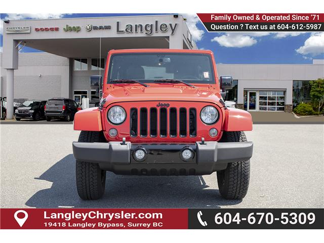 2015 Jeep Wrangler Unlimited Sahara (Stk: K602678A) in Surrey - Image 2 of 28