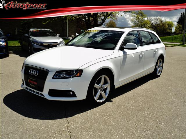 2011 Audi A4 2.0T Premium Plus (Stk: 1489) in Orangeville - Image 1 of 21