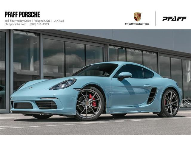2017 Porsche 718 Cayman S (Stk: CONSIGN1) in Vaughan - Image 1 of 21