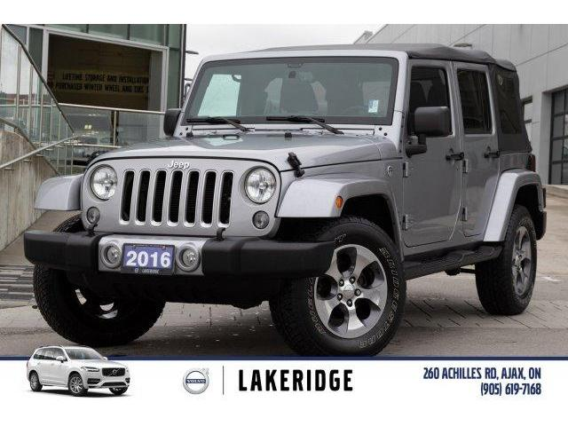 2016 Jeep Wrangler Unlimited Sahara (Stk: P0169) in Ajax - Image 1 of 23