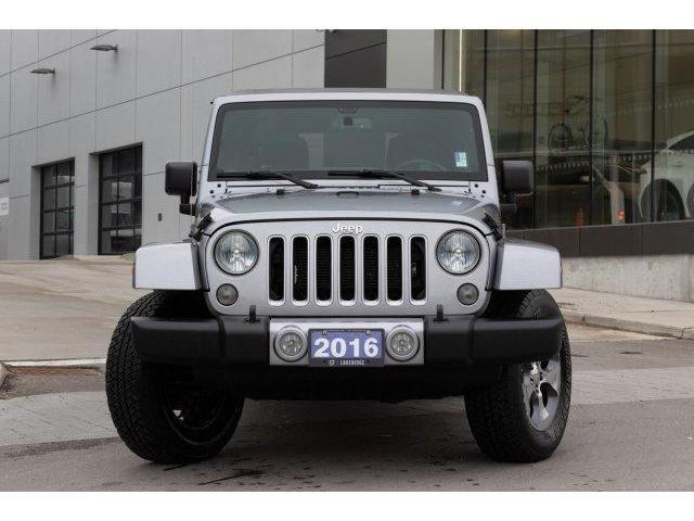 2016 Jeep Wrangler Unlimited Sahara (Stk: P0169) in Ajax - Image 2 of 23