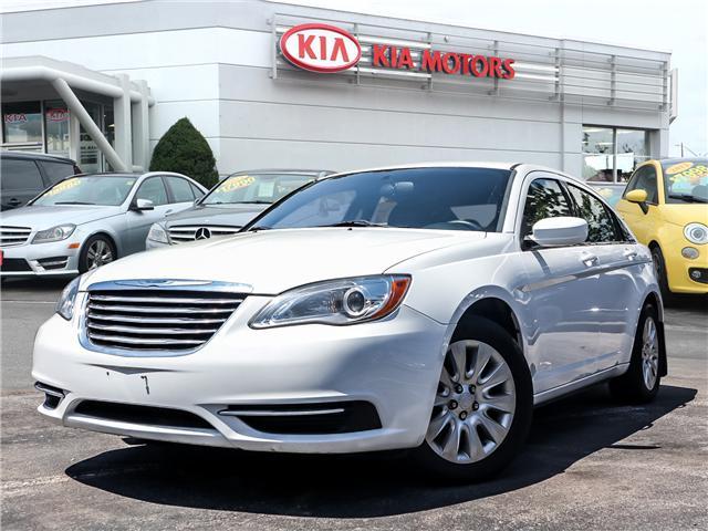 2013 Chrysler 200 LX (Stk: W0139) in Burlington - Image 1 of 22
