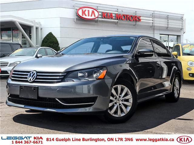 2014 Volkswagen Passat 2.5L Trendline (Stk: 2401) in Burlington - Image 1 of 23