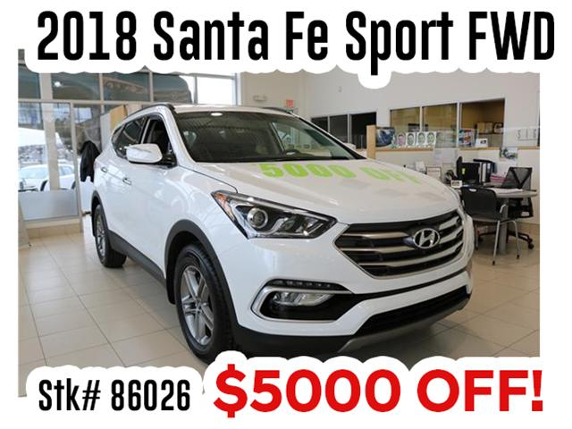 2018 Hyundai Santa Fe Sport 2.4 Premium (Stk: 86026) in Saint John - Image 1 of 3
