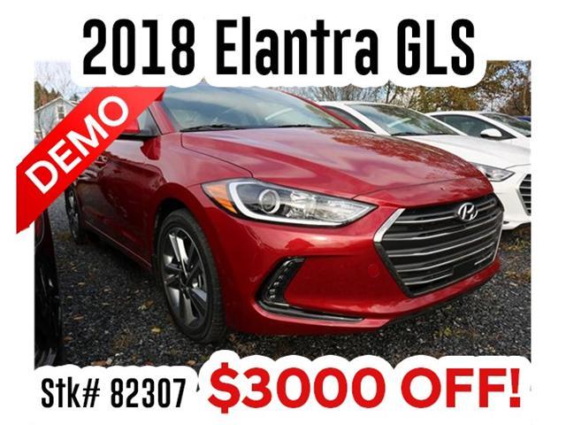 2018 Hyundai Elantra GLS (Stk: 82307) in Saint John - Image 1 of 3