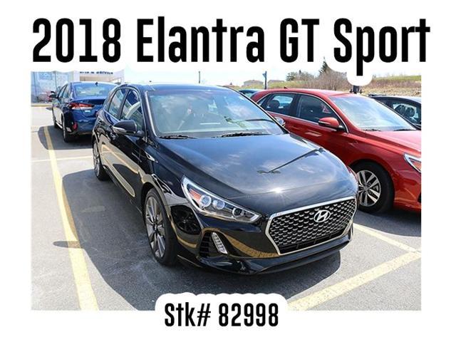 2018 Hyundai Elantra GT Sport (Stk: 82998) in Saint John - Image 1 of 3