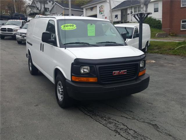 2016 GMC Savana 2500 1WT (Stk: ) in Dartmouth - Image 1 of 15