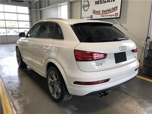 2018 Audi Q3 2.0T Progressiv (Stk: P0673) in Owen Sound - Image 3 of 12
