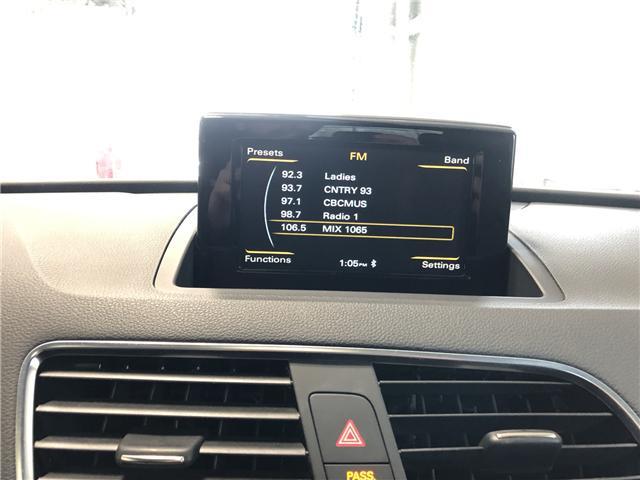 2018 Audi Q3 2.0T Progressiv (Stk: P0673) in Owen Sound - Image 9 of 12