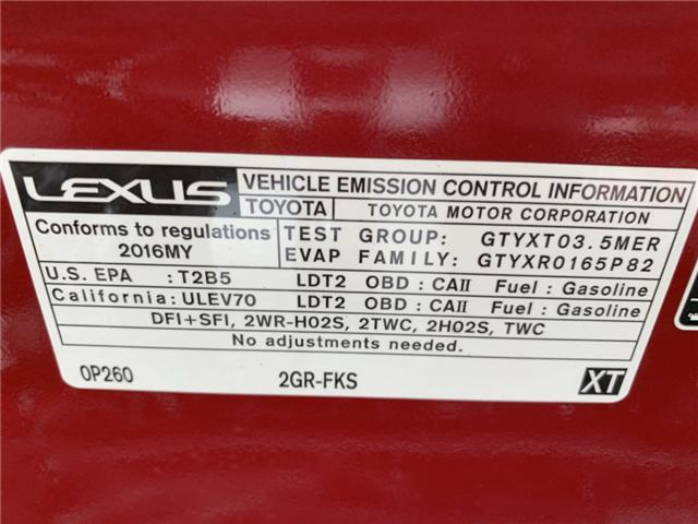 2016 Lexus RX 350 Base (Stk: GC027124) in Sarnia - Image 26 of 26