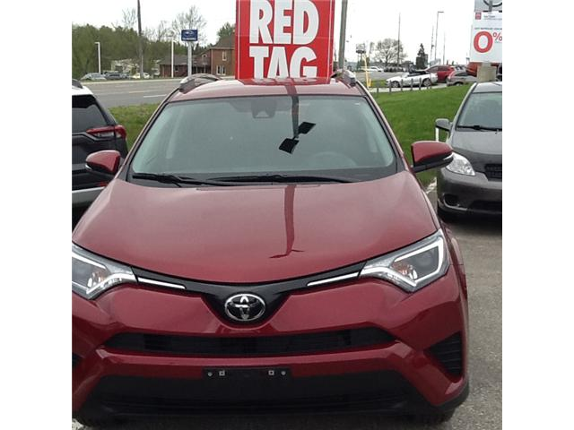 2018 Toyota RAV4 LE (Stk: ) in Owen Sound - Image 1 of 4
