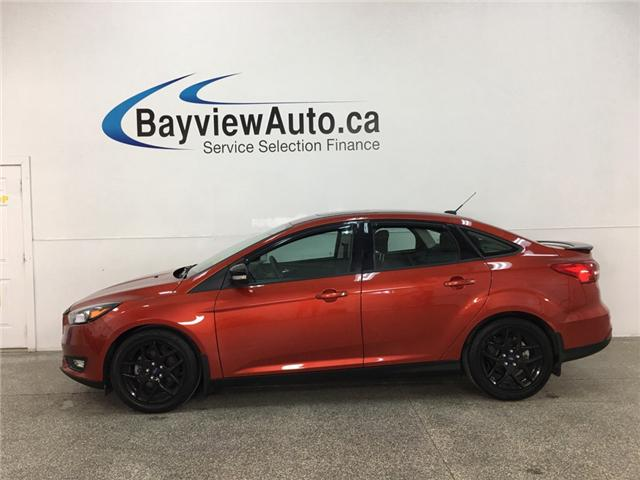 2018 Ford Focus SEL (Stk: 35007J) in Belleville - Image 1 of 27