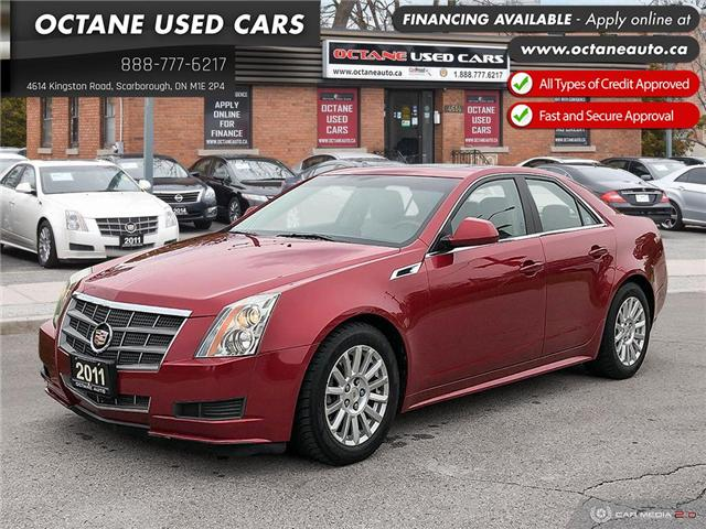 2011 Cadillac CTS 3.0 (Stk: ) in Scarborough - Image 1 of 24