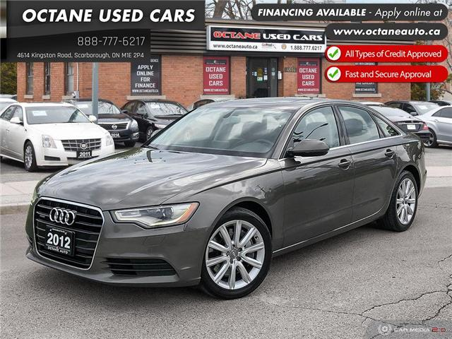 2012 Audi A6 3.0 Premium (Stk: ) in Scarborough - Image 1 of 25