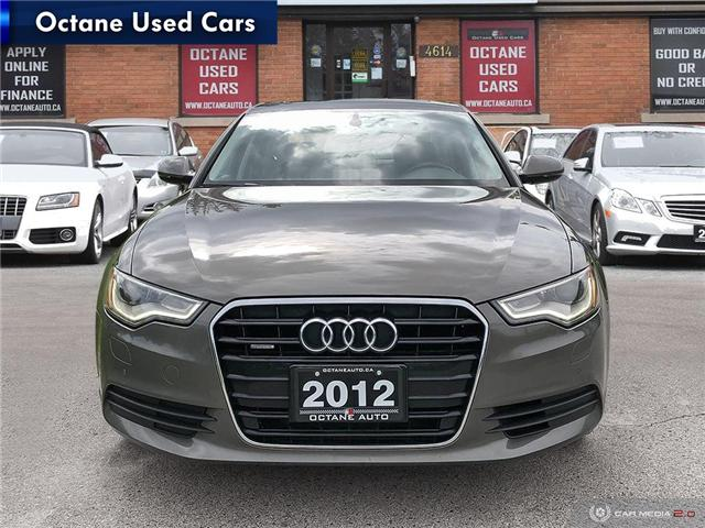 2012 Audi A6 3.0 Premium (Stk: ) in Scarborough - Image 2 of 25