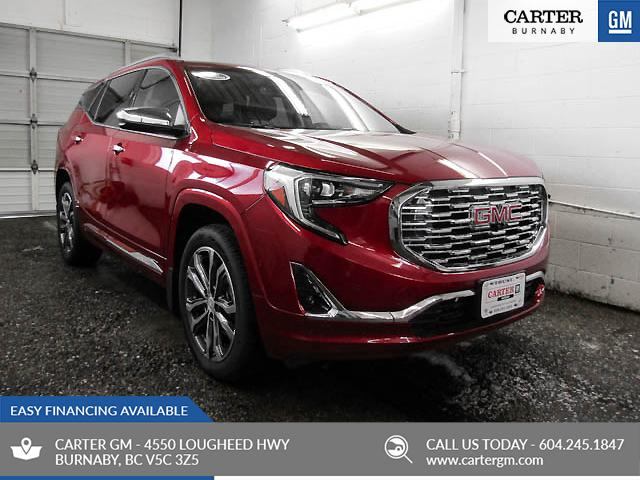 2018 GMC Terrain Denali (Stk: 78-95430) in Burnaby - Image 1 of 13