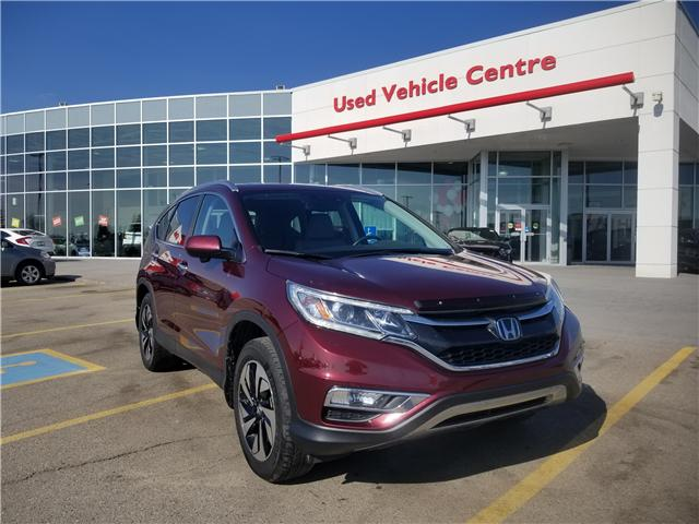 2015 Honda CR-V Touring (Stk: U194177) in Calgary - Image 1 of 30