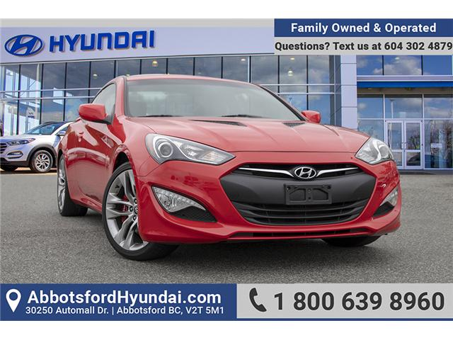 2016 Hyundai Genesis Coupe 3.8 R-Spec (Stk: AH8847) in Abbotsford - Image 1 of 26