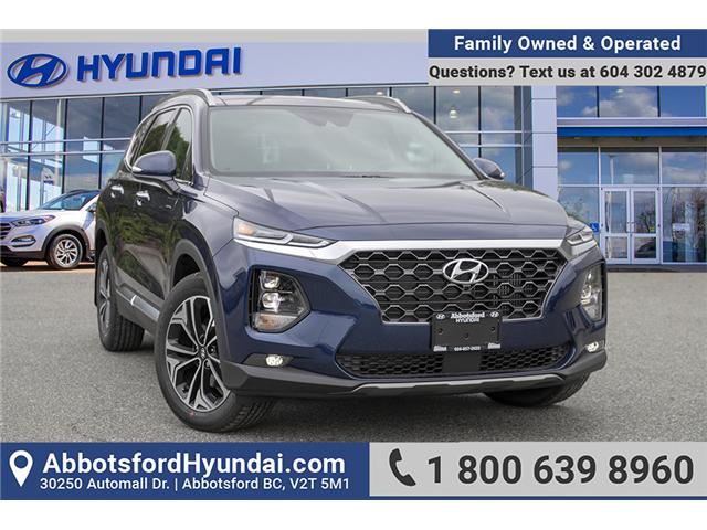 2019 Hyundai Santa Fe Ultimate 2.0 (Stk: KF110704) in Abbotsford - Image 1 of 29