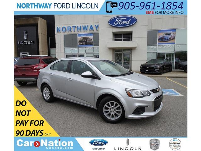 2018 Chevrolet Sonic LT | KEYLESS ENTRY | BACKUP CAM | TOUCH SCREEN | (Stk: DR217) in Brantford - Image 1 of 36