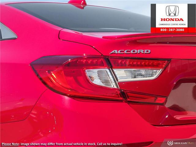 2019 Honda Accord Sport 1.5T (Stk: 19870) in Cambridge - Image 11 of 24