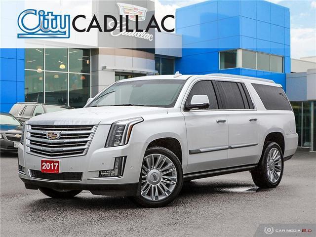 2017 Cadillac Escalade ESV Platinum (Stk: R12283) in Toronto - Image 1 of 27