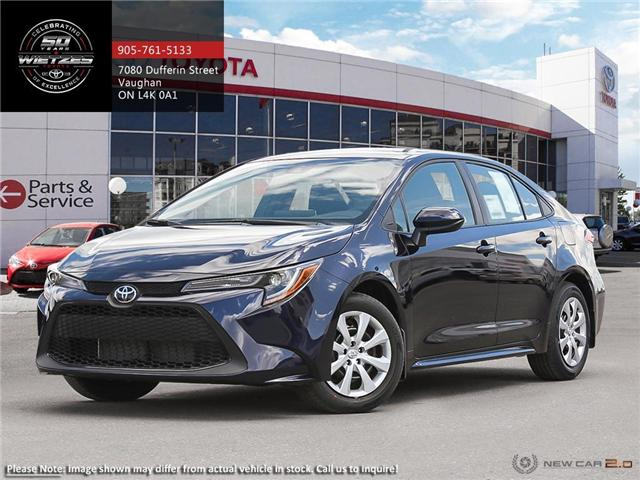 2020 Toyota Corolla LE (Stk: 68805) in Vaughan - Image 1 of 24