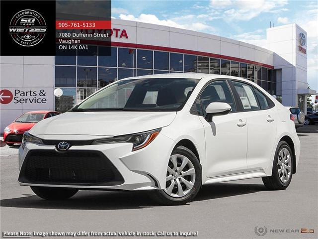 2020 Toyota Corolla LE (Stk: 68702) in Vaughan - Image 1 of 24