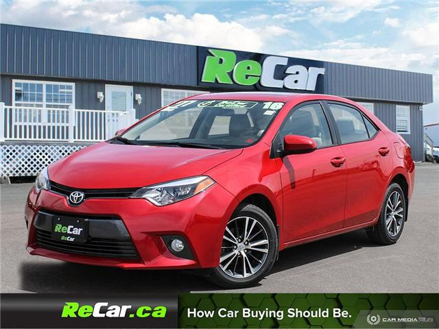 2016 Toyota Corolla LE (Stk: 190610A) in Fredericton - Image 1 of 23