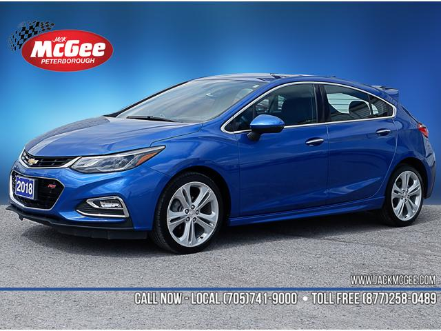 2018 Chevrolet Cruze Premier Auto (Stk: P92087R) in Peterborough - Image 1 of 19
