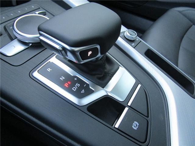 2019 Audi A4 45 Progressiv (Stk: 190324) in Regina - Image 22 of 22