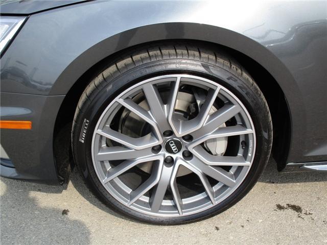 2019 Audi A4 45 Progressiv (Stk: 190359) in Regina - Image 11 of 34