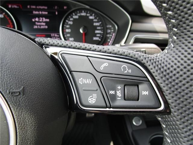 2019 Audi A4 45 Progressiv (Stk: 190359) in Regina - Image 20 of 34