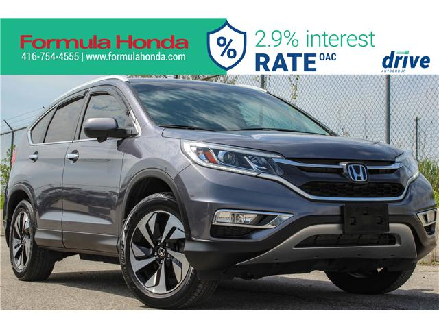 2016 Honda CR-V Touring (Stk: 19-1416A) in Scarborough - Image 1 of 37