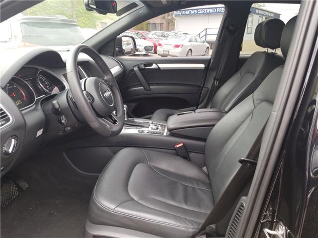 2014 Audi Q7 TDI Progressiv (Stk: OP10177) in Mississauga - Image 11 of 27
