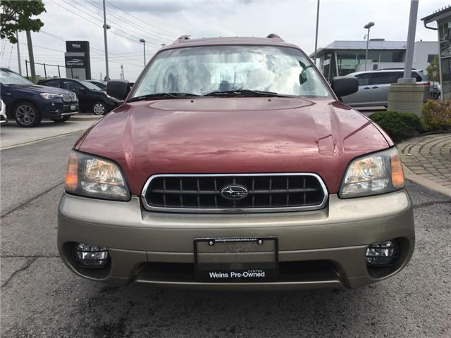 2004 Subaru Outback Base (Stk: 1682W) in Oakville - Image 2 of 20